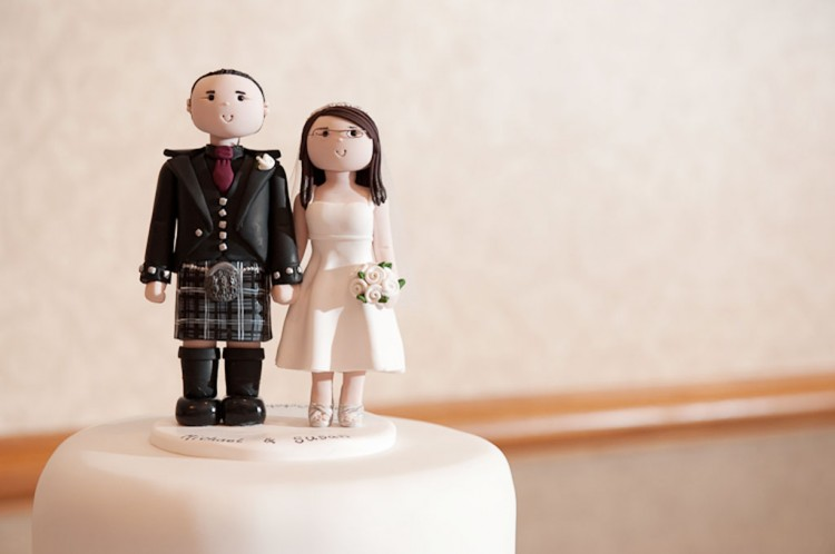 Susan And Michaels Wedding Toppers Picture in Wedding Cake