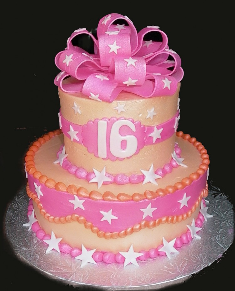 Sweet 16 Birthday Cakes Picture in Birthday Cake