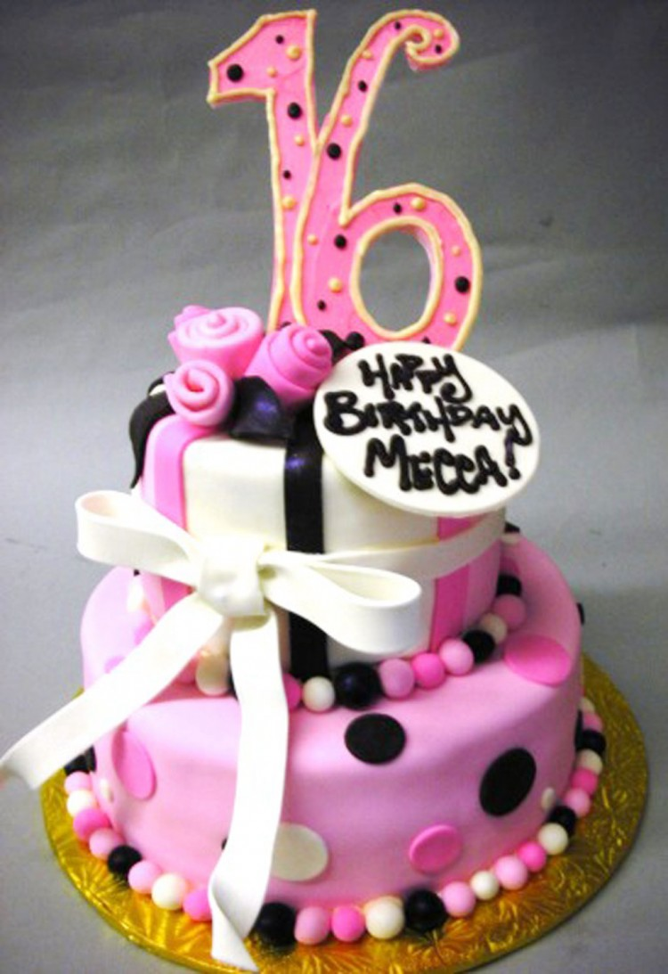 Sweet 16 Birthday Cakes Ideas Picture in Birthday Cake