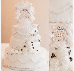 1024x1024px Sylvia Brookshires Wedding Cakes Picture in Wedding Cake