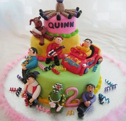 1024x1365px The Wiggles Cakes For Birthday Picture in Birthday Cake