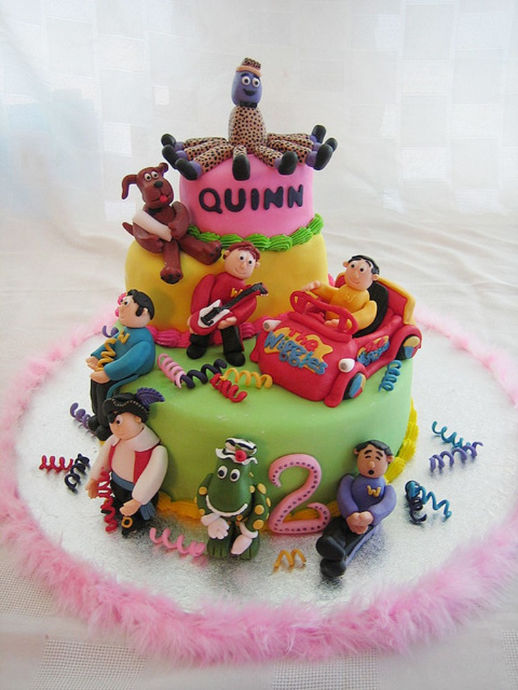 The Wiggles Cakes For Birthday Picture in Birthday Cake