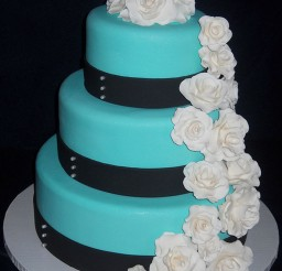 1024x1371px Tiffany Blue Wedding Cake Picture in Wedding Cake