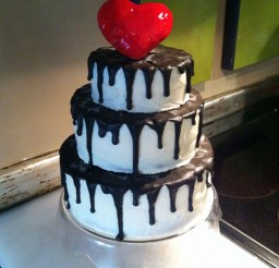 1024x1370px Tim Burton Wedding Cakes Design 1 Picture in Wedding Cake