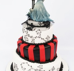 1024x1653px Tim Burton Wedding Cakes Design 2 Picture in Wedding Cake
