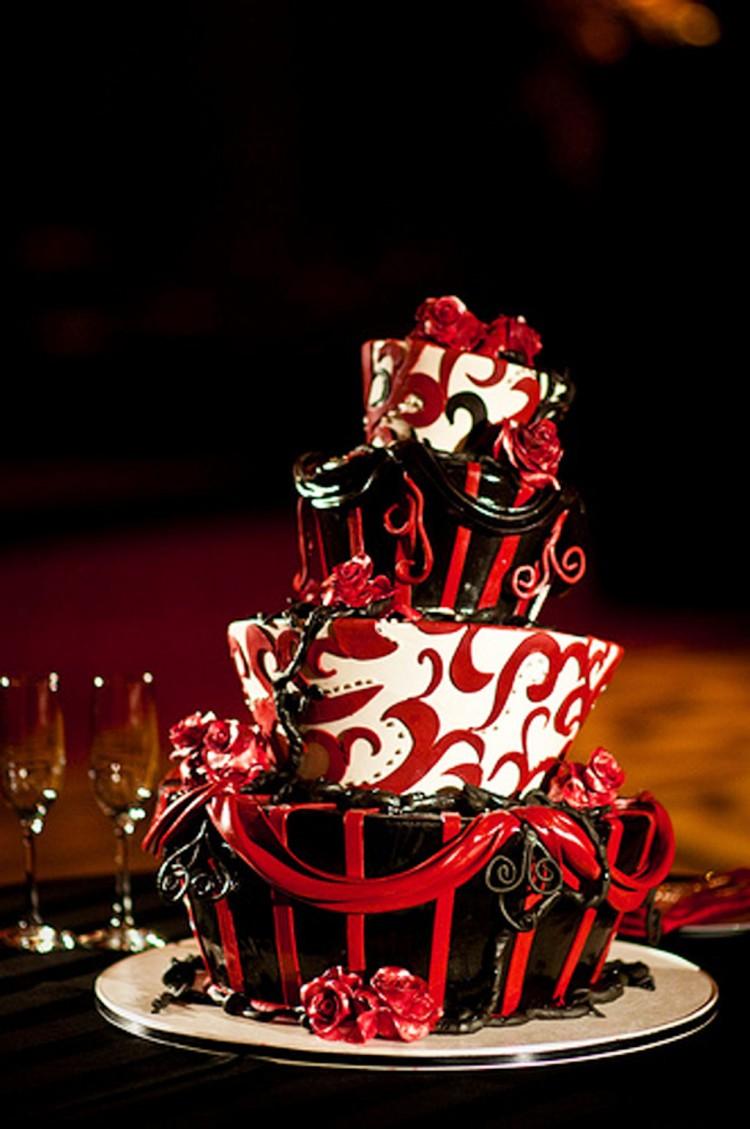 Tim Burton Wedding Cakes Design 3 Picture in Wedding Cake