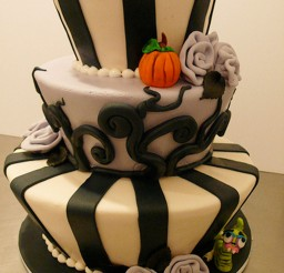 1024x1820px Tim Burton Wedding Cakes Design 4 Picture in Wedding Cake