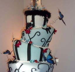 1024x1365px Tim Burton Wedding Cakes Design 5 Picture in Wedding Cake