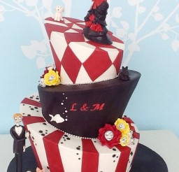 1024x1436px Tim Burton Wedding Cakes Design 6 Picture in Wedding Cake