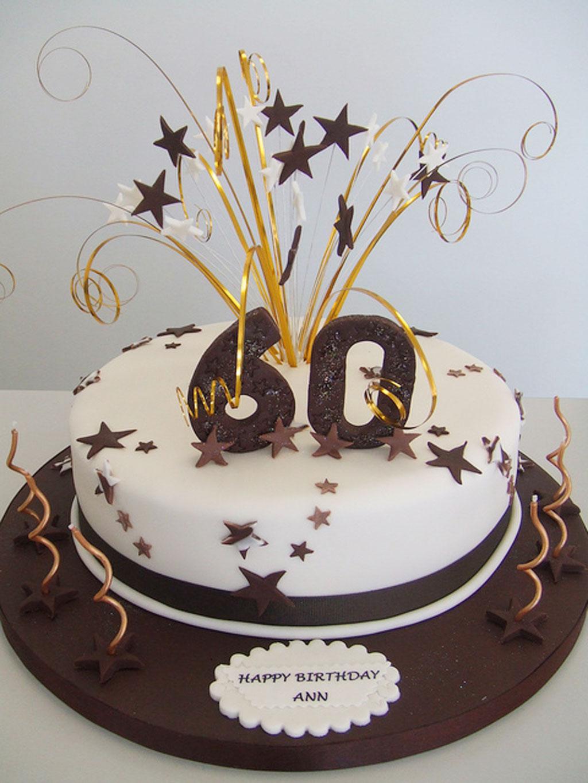 Tiramius 60th Birthday Cake Birthday Cake - Cake Ideas by ...