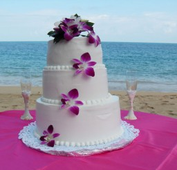 1024x768px Tropical Weddings Jamaica Picture in Wedding Cake