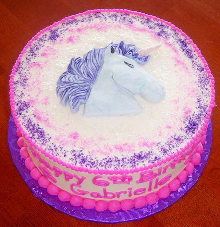 Unicorn Birthday Cakes Picture in Birthday Cake