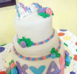 1024x1365px Unicorn Birthday Cake Decorating Picture in Birthday Cake
