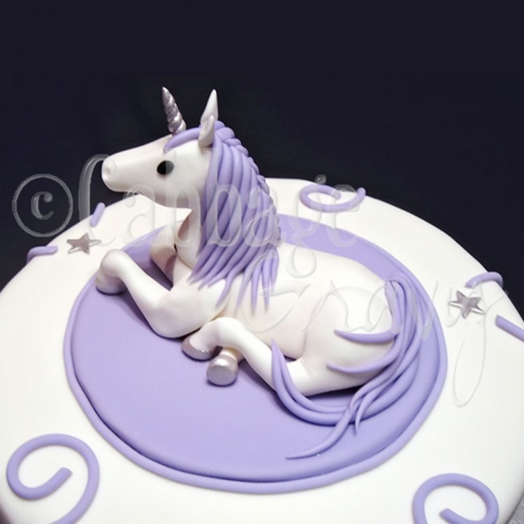 Unicorn Cake Topper By Angry Birds Birthday Cake Creator Picture in Birthday Cake