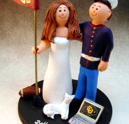 1024x1388px Unique For Marine Wedding Cake Toppers Picture in Wedding Cake