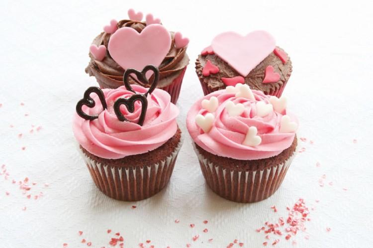 Valentines Cupcakes Picture in Valentine Cakes