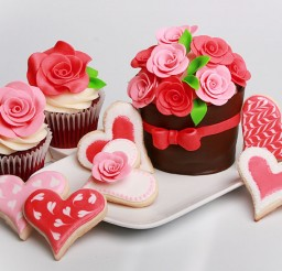 1024x683px Valentines Day Cupcakes Picture in Wedding Cake