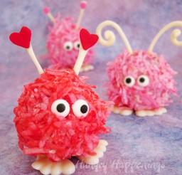 1024x1024px Valentines Day Warm Fuzzy Cake Balls Picture in Valentine Cakes
