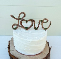 1024x878px Vintage Rustic Wedding Cake Toppers Picture in Wedding Cake
