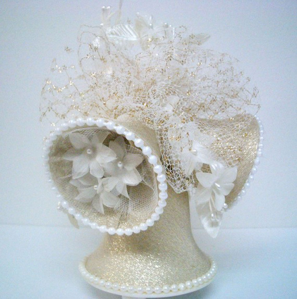 Vintage Wedding Bells Cake Topper Wedding Cake