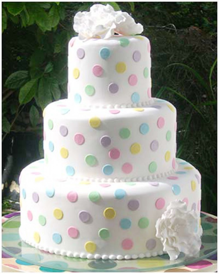 Wedding Cake Filling And Icing Picture in Wedding Cake