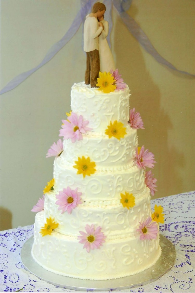 Wedding Cake Filling Orange Flavor Picture in Wedding Cake