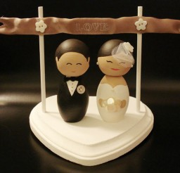 1024x870px Wedding Cake Topper Tutorial Picture in Wedding Cake