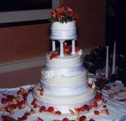 1024x1024px Wedding Cakes Springfield Illinois Florist Picture in Wedding Cake