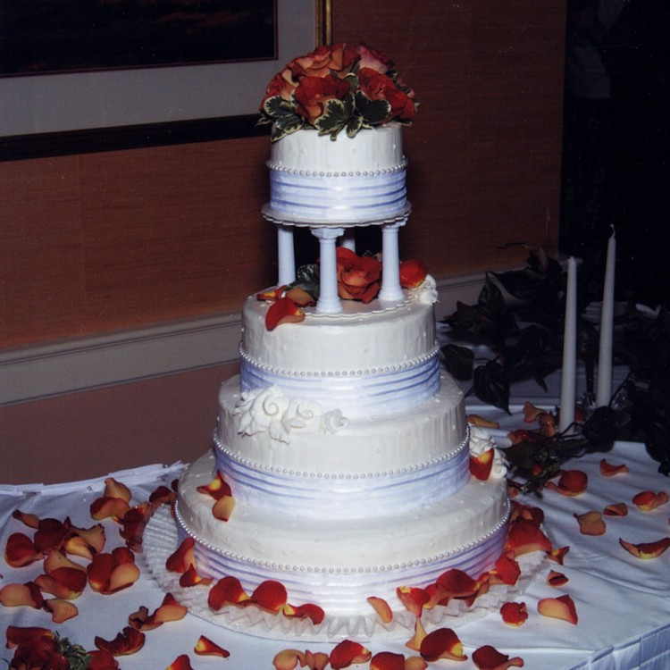 Wedding Cakes Springfield Illinois Florist Picture in Wedding Cake