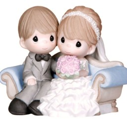 1024x1024px Wedding Figurines And Cake Toppers Precious Moments Picture in Wedding Cake
