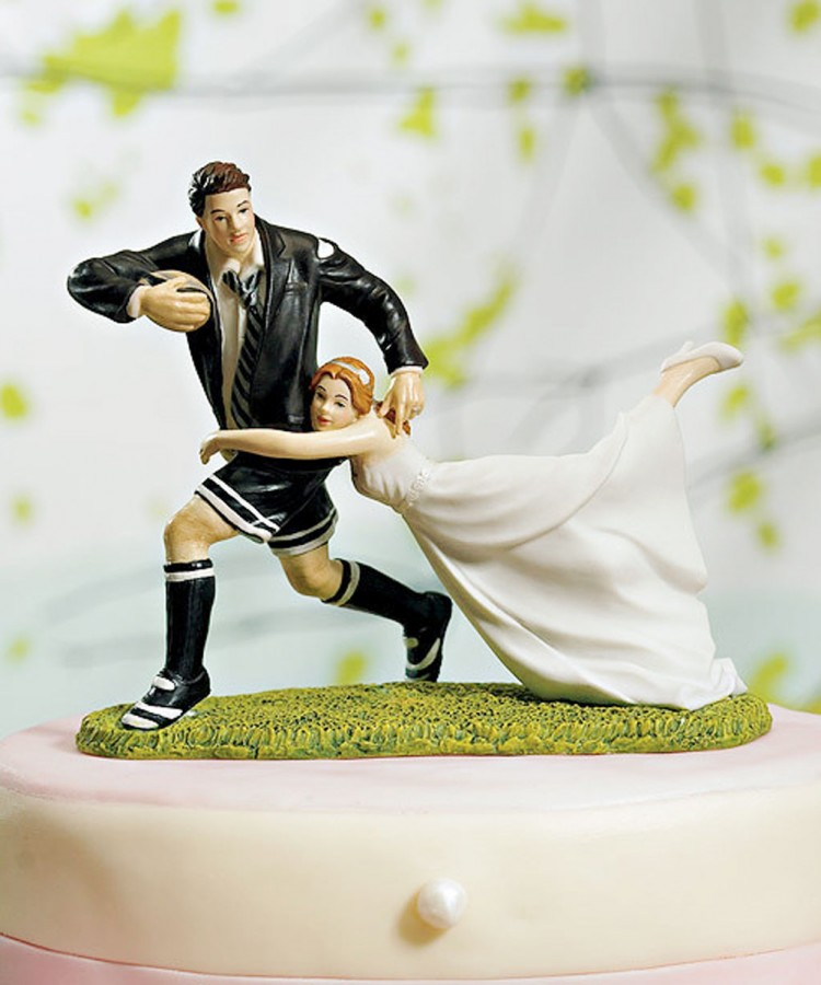 Weddingstar Cake Topper Picture in Wedding Cake