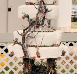 1024x1821px White Camo WeddingCake Picture in Wedding Cake