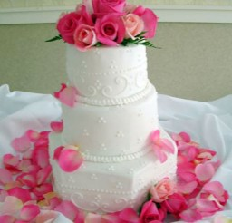 1024x1365px White Wedding Cakes With Buttercream Frosting Picture in Wedding Cake
