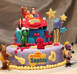 1024x683px Wiggles Birthday Cake Picture in Birthday Cake