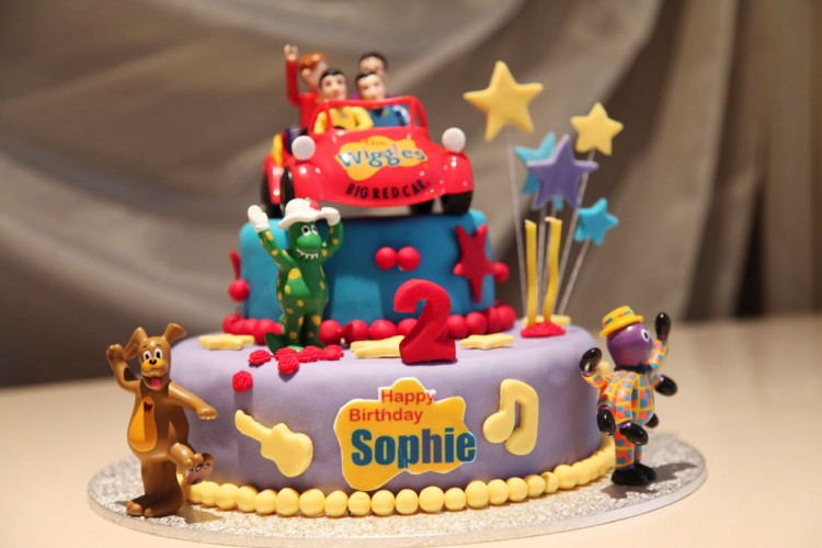 Wiggles Birthday Cake Picture in Birthday Cake