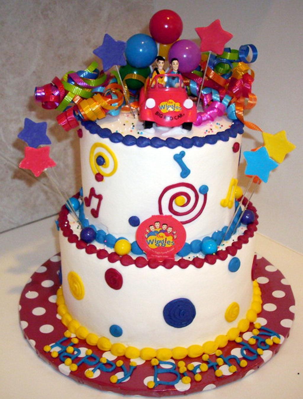 Wiggles Birthday Cake Decoration Birthday Cake - Cake ...