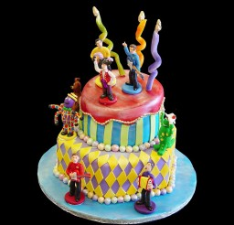 1024x1024px Wiggles Birthday Cake Design Picture in Birthday Cake