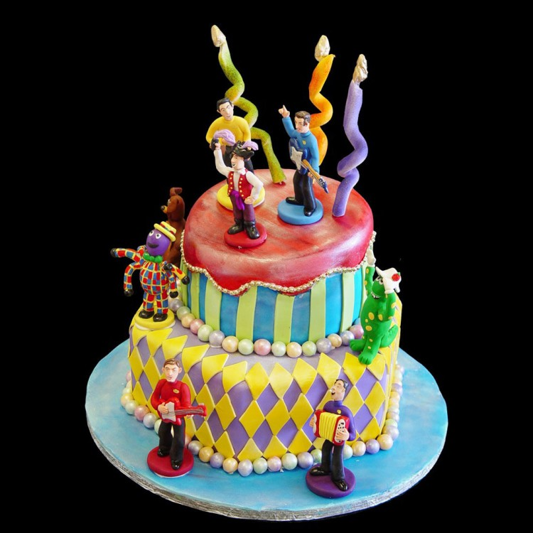 Wiggles Birthday Cake Design Picture in Birthday Cake