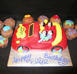 1024x768px Wiggles Birthday Cakes Picture in Birthday Cake