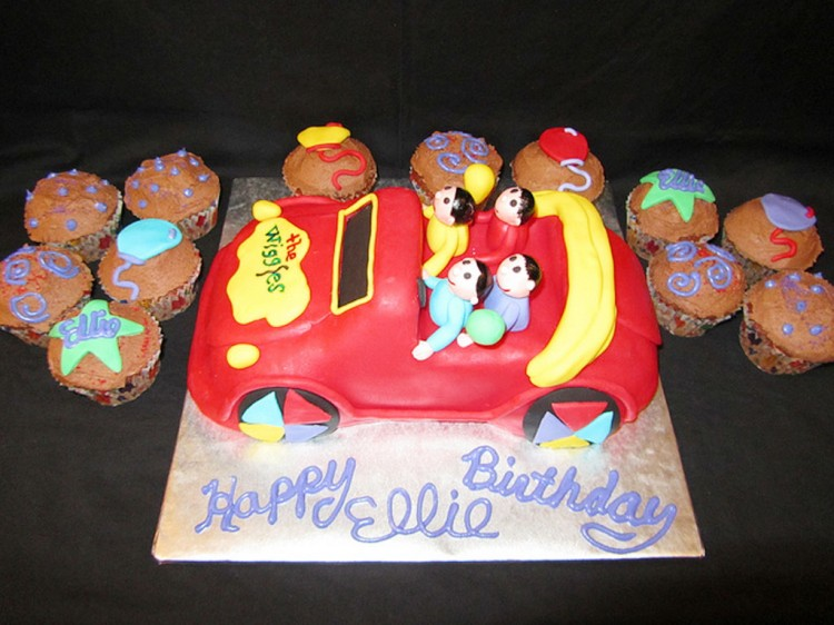 Wiggles Birthday Cakes Picture in Birthday Cake