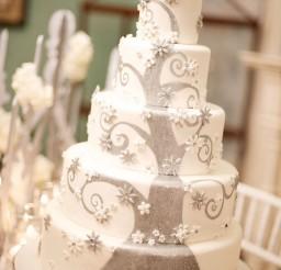 1024x1539px Winter Fantasy Wedding Cake Picture in Wedding Cake