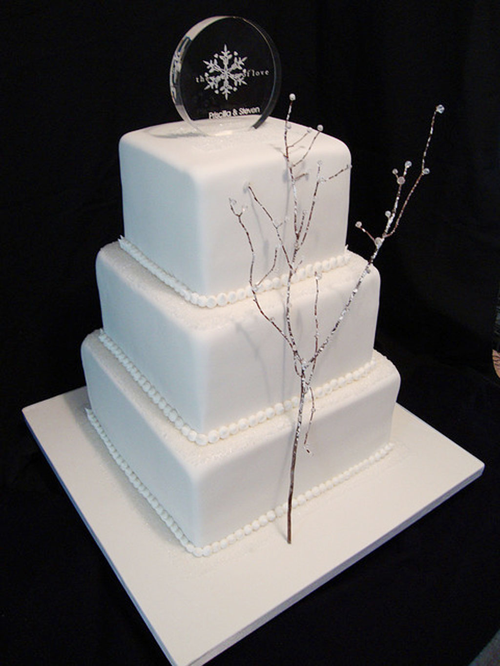 winter themed wedding cakes photo gallery winter themed wedding cakes photo wedding cake cake 27549