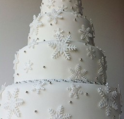 1024x1371px Winter Wonderland Tier Wedding Cake Picture in Wedding Cake