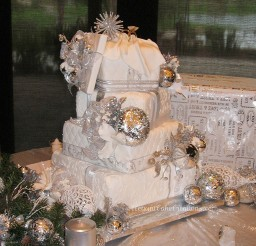 1024x1100px Winter Wonderland Wedding Cakes Picture in Wedding Cake