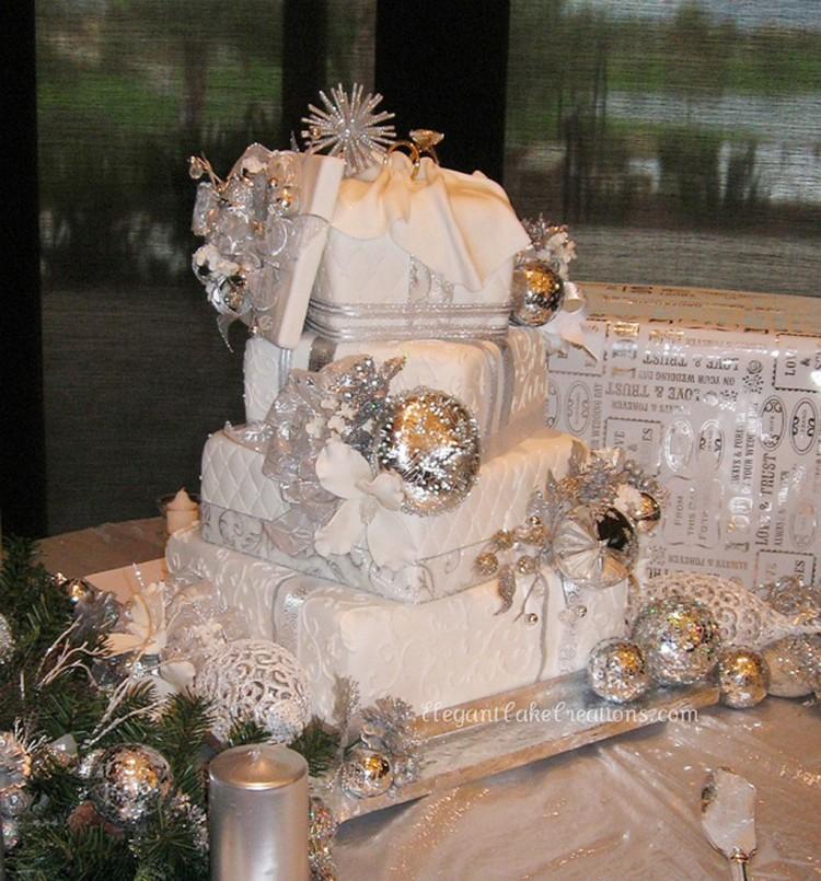 Winter Wonderland Wedding Cakes Picture in Wedding Cake