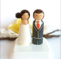1024x1168px Wooden Wedding Cake Toppers 2 Picture in Wedding Cake