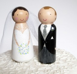 1024x916px Wooden Wedding Cake Toppers 4 Picture in Wedding Cake