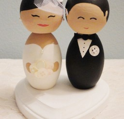 1024x1416px Wooden Wedding Cake Toppers 5 Picture in Wedding Cake
