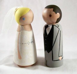 1024x767px Wooden Wedding Cake Toppers 6 Picture in Wedding Cake