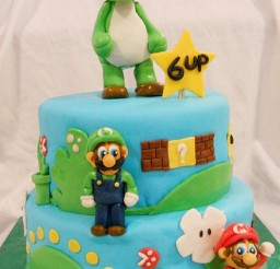 1024x1528px Yoshi Birthday Cake Picture in Birthday Cake